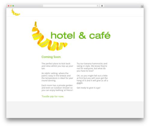 Eden WordPress hotel theme - wazzywazzywoowoo.com