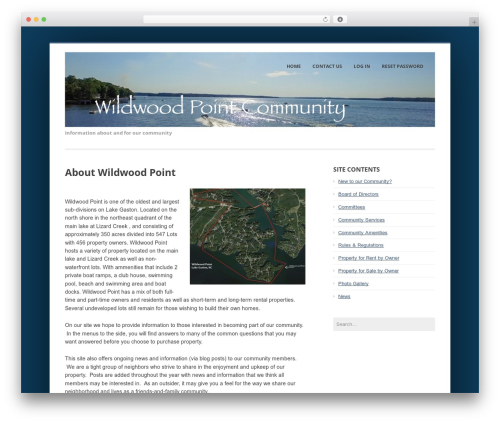 Enterprise Lite free WP theme - wildwoodpoint.com