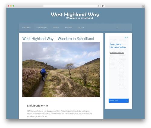 Everest WP theme - west-highland-way.org