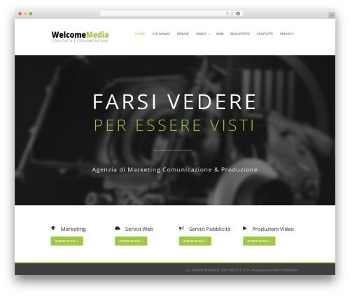 Flawless top WordPress theme - welcomemedia.it