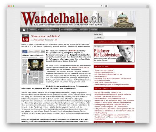 Free WordPress CMS Navigation plugin - wandelhalle.ch