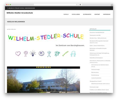 Formation theme WordPress free - wilhelm-stedler-grundschule.de