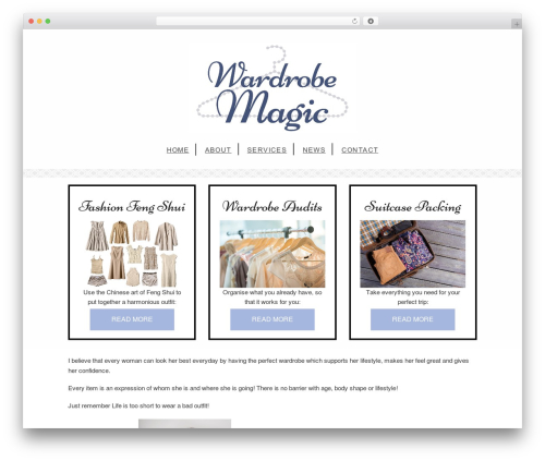 Free WordPress MailChimp for WordPress plugin - wardrobemagic.co.nz