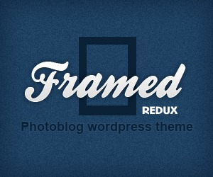 framed-redux WordPress blog template