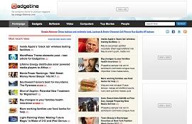 Gadgetine newspaper WordPress theme