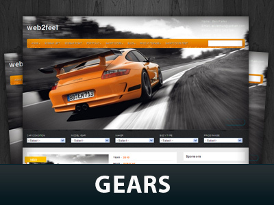 Gears theme WordPress