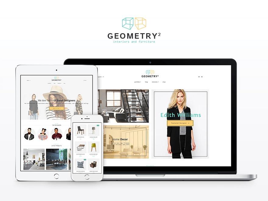 Geometry best WordPress magazine theme