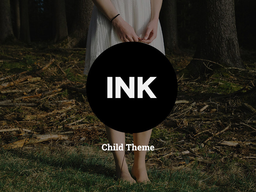 Ink - Child Theme wallpapers WordPress theme