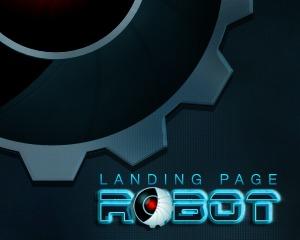 Landing Page Robot WP landing page