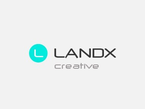 LandX WordPress page template