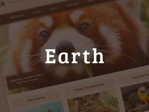 MafiaShare.net -  Earth (shared on mafiashare.com) template WordPress