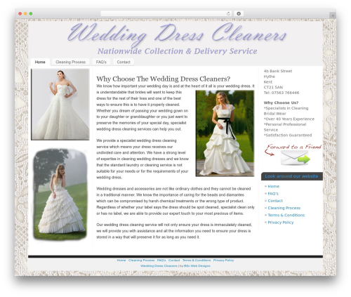 WordPress popover plugin - weddingdress-cleaners.co.uk