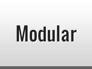 Modular top WordPress theme