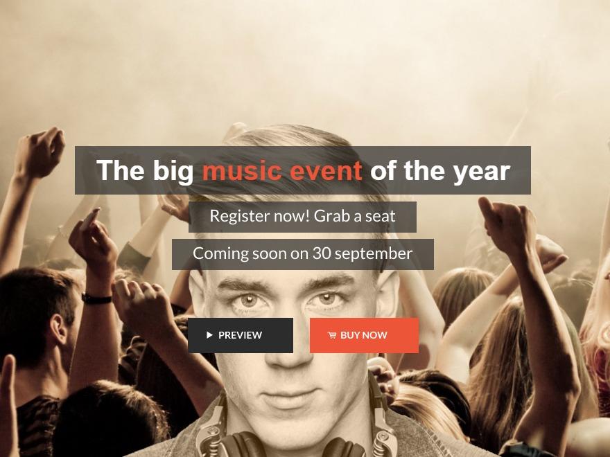 Music Hub WordPress magazine theme
