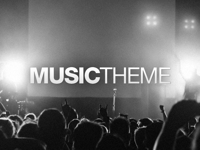 Music template WordPress