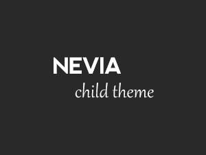 Nevia Child top WordPress theme