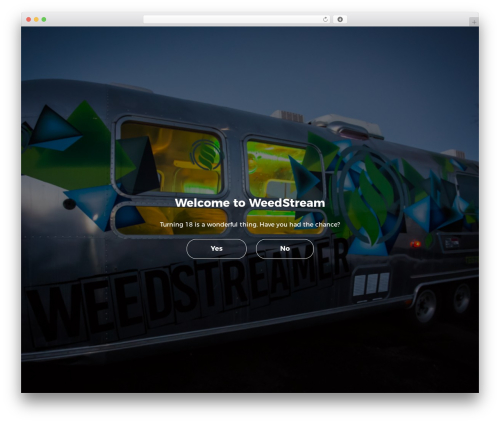 Newspaper best WordPress magazine theme - weedstream.net