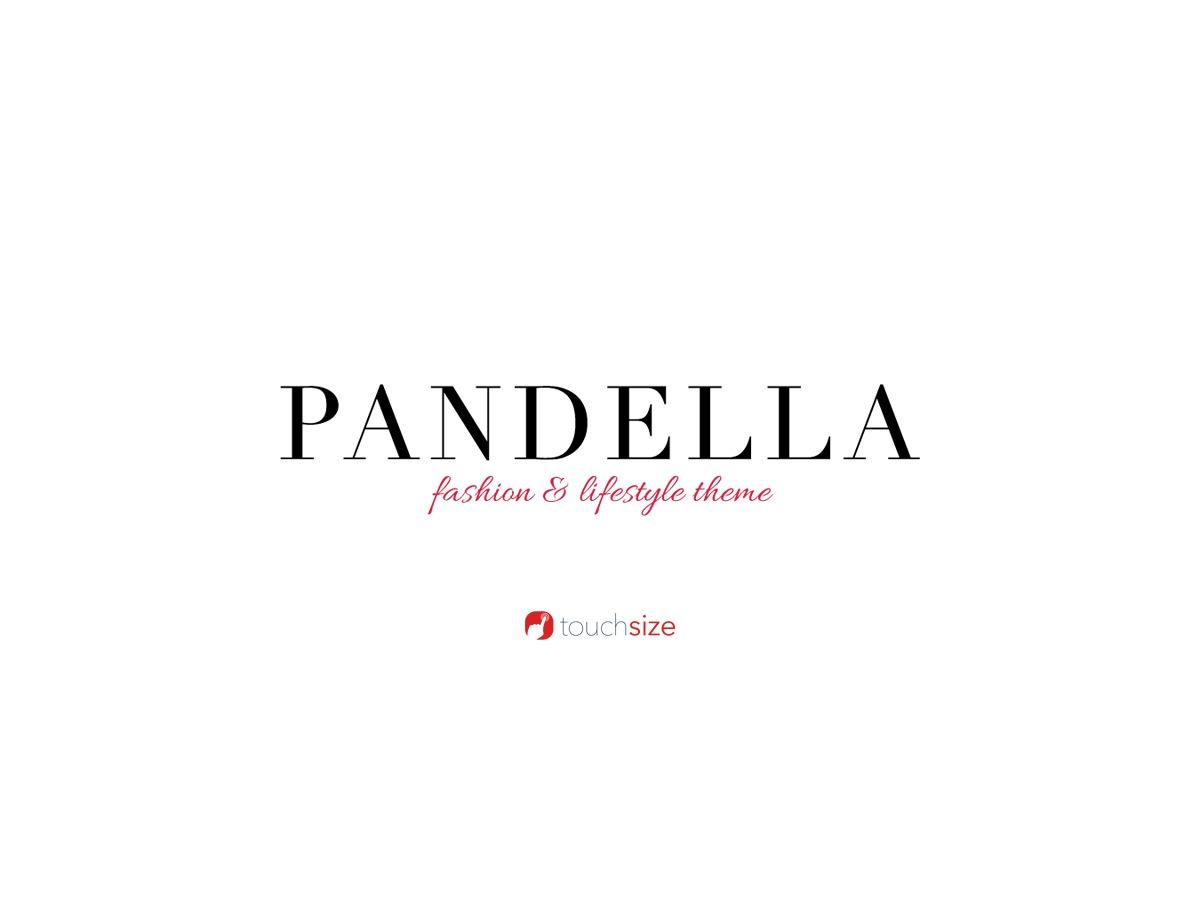 Pandella WordPress theme
