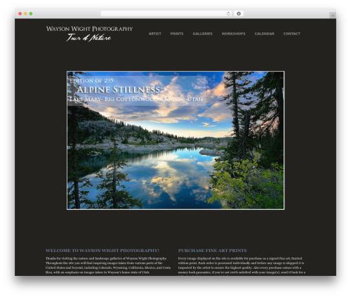Photocrati Theme WordPress theme image - waysonwight.com
