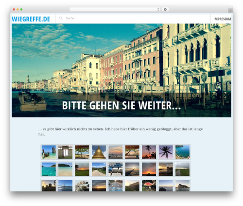 Pictorico WordPress theme - wiegreffe.de