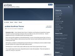 proSlate best WordPress theme