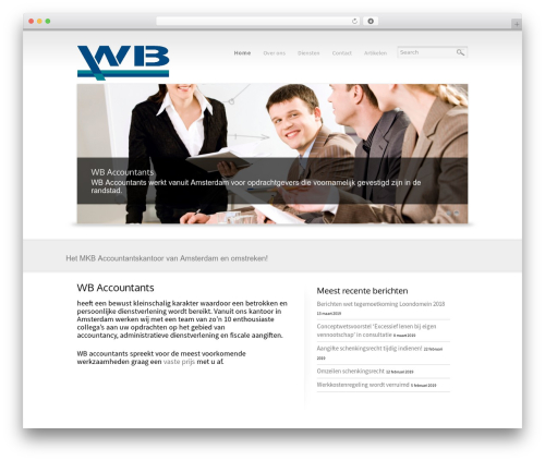 Reflection WP theme - wbaccountants.nl