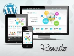 Rounder theme WordPress