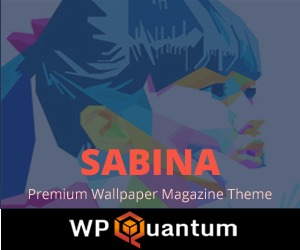 Sabina Theme V1.0 WordPress magazine theme