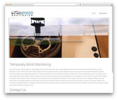 Satellite7 theme WordPress - windspeedmonitoring.com