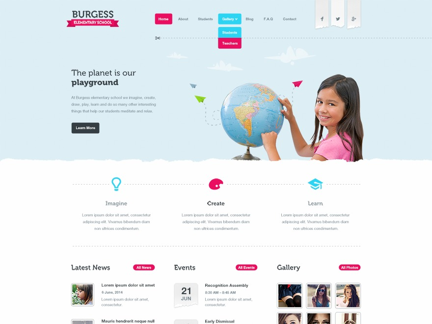 School by MyThemeShop WordPress ecommerce template