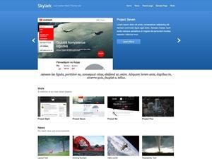 Skylark best portfolio WordPress theme