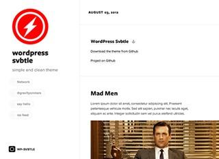 Svbtle best WordPress theme