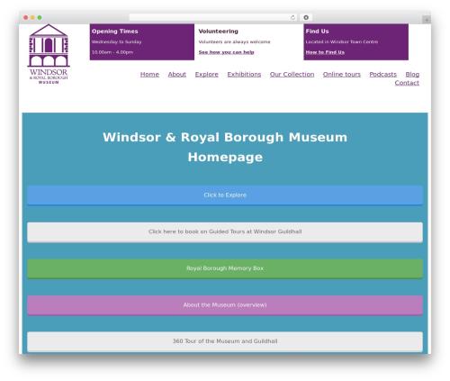 Free WordPress My Calendar plugin - windsormuseum.org.uk