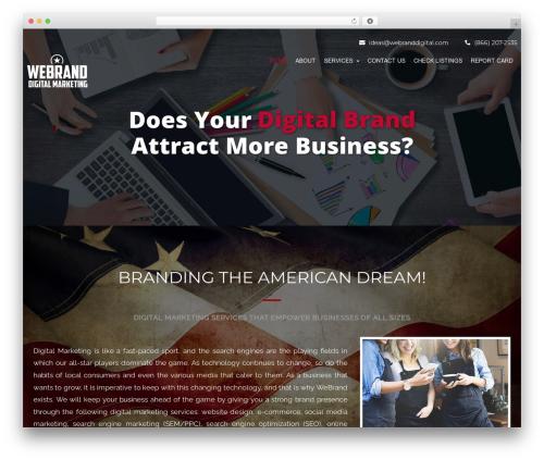 The SEO theme WordPress - webranddigital.com