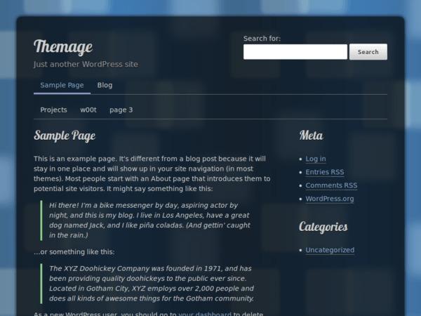 Themage top WordPress theme