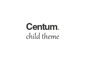 Theme WordPress Centum Child