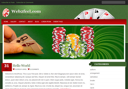 Theme WordPress Pokerstud