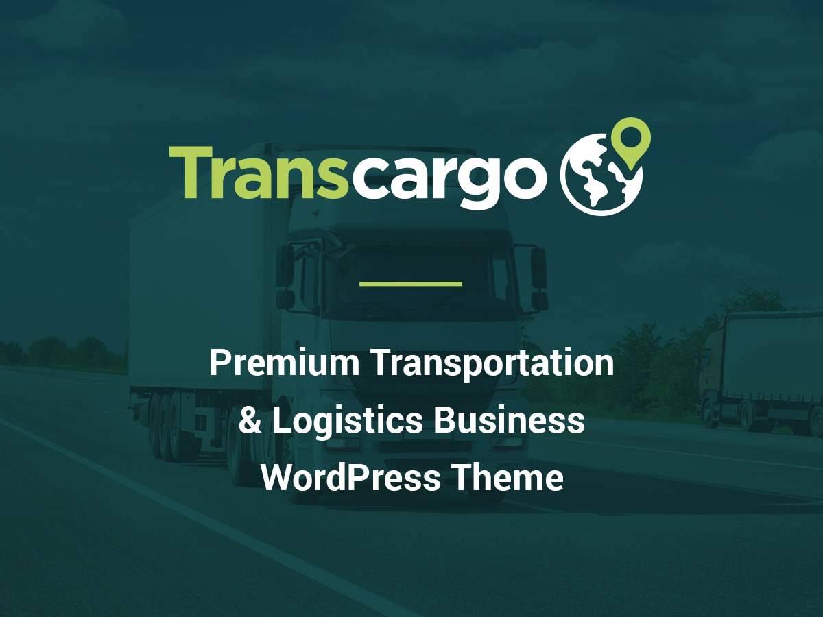 Transcargo Child Theme WordPress template for business