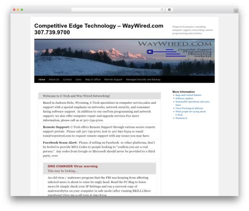 Twenty Ten WordPress template free download - waywired.com