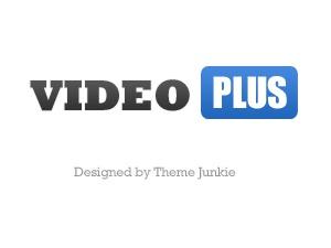 VideoPlus WordPress video template