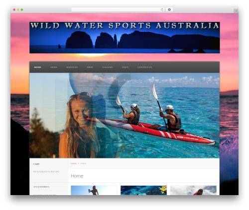 Viroshop best WooCommerce theme - wildwatersports.com.au