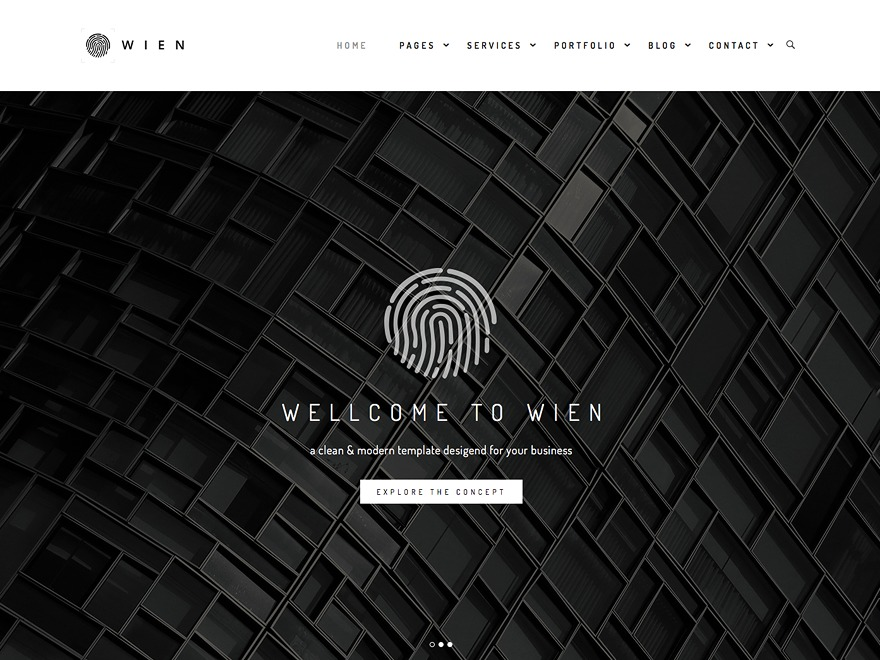 wien WordPress theme