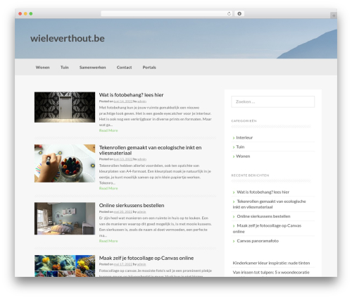 WordPress theme Coller - wieleverthout.be