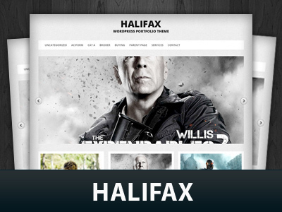 WordPress theme Halifax