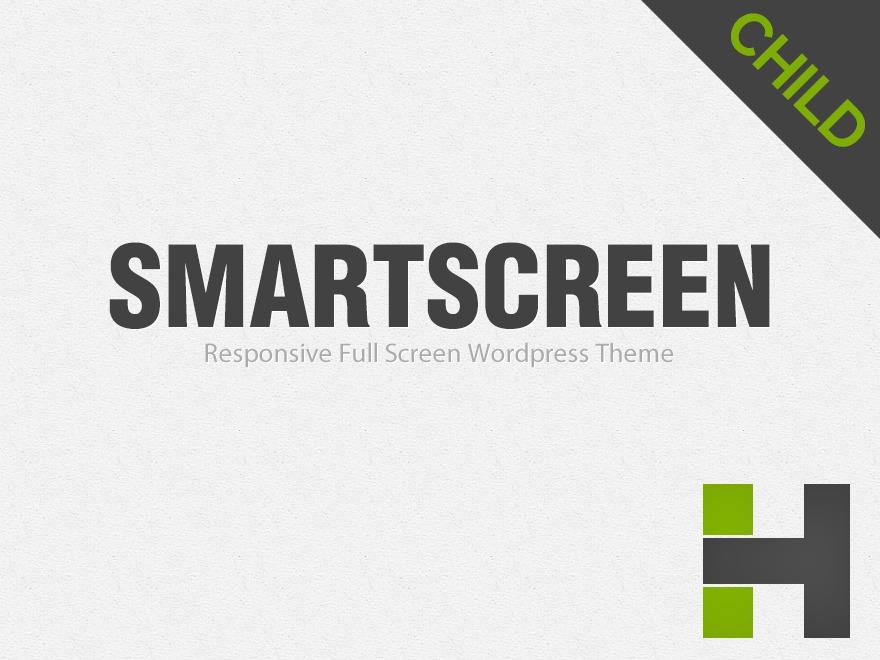 WordPress theme SmartScreen Child