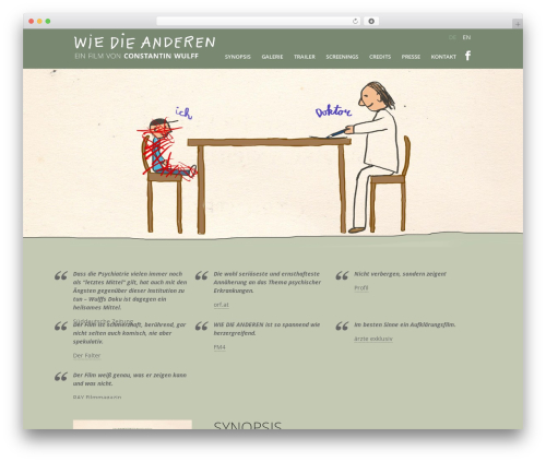 WordPress website template Divi - wiedieanderen.at