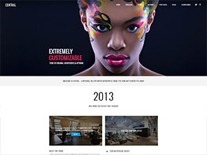 WordPress website template wealthms