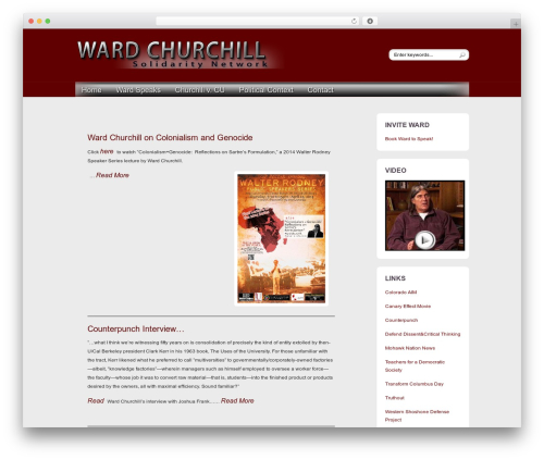 Free WordPress Site Table of Contents plugin - wardchurchill.net