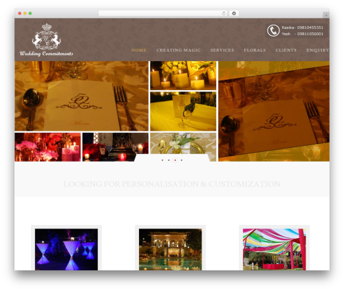 WP template Klasik - weddingcommitment.com