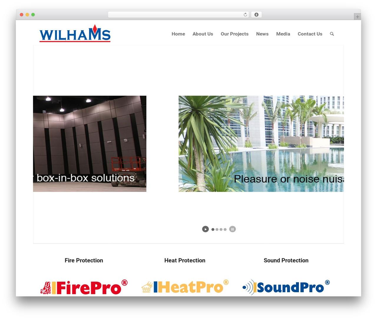 WP theme Enfold - wilhams.com.my